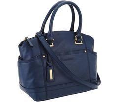 e74255715073 Tignanello Glove Leather Pretty Pockets Satchel. Leather GlovesQvcSatchelPocketsSatchel  PurseShoulder PurseBackpacking