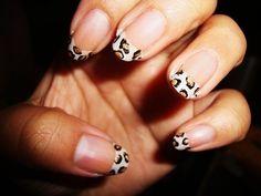 cheetah tips nails-nails-nails