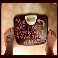 LOVE this blog post from Nia Shanks! I am currently in the midst of my own 100 day no scale challenge :)