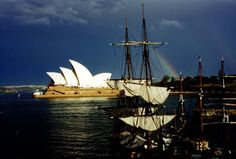 Sydney Harbor Australia - A great shot from our trip ... and a place I could visit and never come back!
