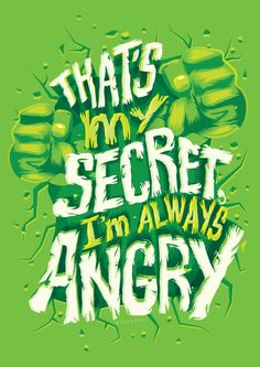 I'm always angry Art Print by Risa Rodil   Society6