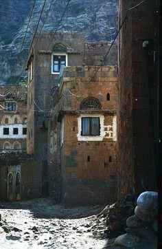 Village Houses, Yemen by David, via Flickr