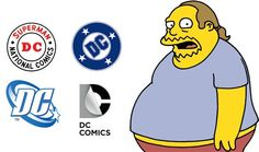The evolution of the DC logo! I like the second one best. Which one is your favorite?
