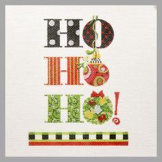 Ho Ho Ho, by Kelly Clark - at Needlepoint Nook