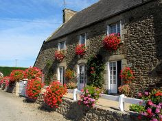 Stone house in Pluduno by magister111, via Flickr Window Box