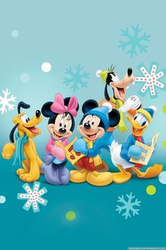 Cute Fab Five winter pic.