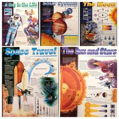 Space Charts. Solar system--The sun and stars--The moon-Space travel--A day in the life. Activities based on lessons designed by NASA. Call number: CH 91 1 1998