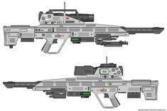 halo+4+wars+gauss+rifle+laser+starcraft+2+ii+rifle+sci+fi+weapon+blaster+cannon+futuristic+range+targeting+computer+modern+warfare+battlefield+ghost+recon.jpg (1600×1064)