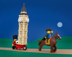 The British are coming! How Paul Revere figured it out is anyone's guess. Photo By Jeff Friesen/The Brick Fantastic   - RoadandTrack.com