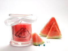Saftige Wassermelone - Ohrringe  In diesen Duft würdest Du am Liebsten gleich rein beißen ;)    #juwelkerze #juwel #kerze #candle #fashion #jewelcandle #jewel #present #gift #surprise #idea #idee #her #interest #girl #woman #maedchen #liebe #love #schmuck #ueberraschung #surprise #you #me #woman #frau #anhaenger #classic #edition #scmuck #ring #ohrringe #wassermelone #fruchtig #duftkerze http://www.juwelkerze.de