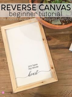 Cricut Iron On Reverse Canvas Tutorial Craft Room Storage, Vinyl Projects, Diy Craft Projects, Canvas Projects Diy, Vinyl Canvas Ideas, Diy Canvas Frame, Circuit Projects, Silhouette School Blog, Free Silhouette