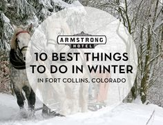 Winter might just be one of our favorite times of the year in Fort Collins, and for good reason! When the air is chilly and the snow is falling, there's no better place to be than right here in Downtown. And to help you find the best spots to enjoy it, here's a list of the top 10 things to do in Fort Collins in the winter!