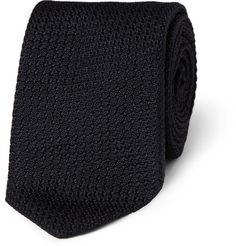 Drakes Slim Silk-Grenadine Tie   MR PORTER