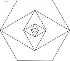 Diseños Numéricos: EXÁGONOS 09