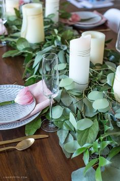 With just a few simple techniques, you can easily arrange a lush fresh greenery table runner that looks like it was purchased from your local florist ...
