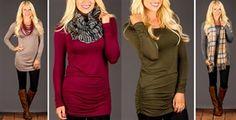Baseball Sleeve Top | 3 Colors! | Jane
