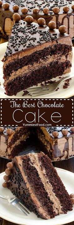 The BEST Chocolate Cake | Food And Cake Recipes