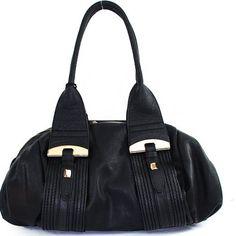 Amazon.com: New Arrival Designer Inspired Fashion Unique Shape Tote Satchel Shoulder Handbag Purse in Black: Clothing $45.99