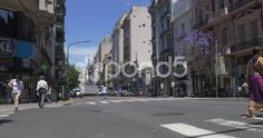 Protest in the streets of Buenos Aires - Stock Footage   by buclefilm