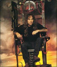 Steve Harris-Iron Maiden.........