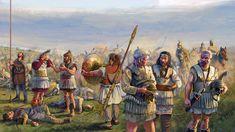 Hellenistic Period, Greek Warrior, Trojan War, Historical Art, Ancient Greece, Ancient History, Warfare, Archaeology, Medieval