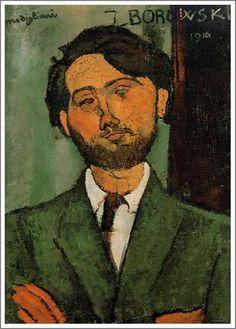 Leopold Zborowski by Modigliani 1910