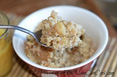 Steel Cut Oats Crockpot Recipe