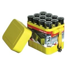 Legacy Manufacturing Porta-Pak™ 12 Pack Grease and Caulk Tube Storage Box LEGGB12