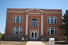 """Carnegie Library Stamford, Texas.     I spent many an hour here, reading all the Nancy Drew and Hardy Boys books :).   And many an hour in the """"Dog House"""" on the second floor."""
