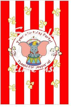 Cute favor for dumbo birthday party