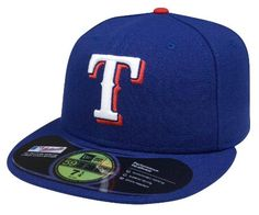 MLB Texas Rangers Authentic On Field Game 59FIFTY Cap, Royal:Amazon:Sports  Outdoors