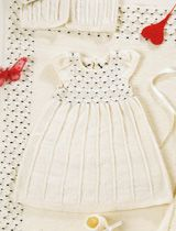 Tämän haluaisin neuloa! Smokkipoimutettu mekko – Anna&Ellit