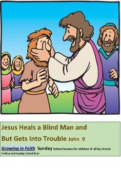 This Sunday School lesson is about the blind beggar who was cured by Jesus on the Sabbath.The Pharisees were starting to get really angry with Jesus and the children learn how they did not believe Jesus was the son of God.If you bought my previous lesson about Jesus healing a blind man you will notice the activities and songs are almost the same so please be aware.The main difference is this lesson looks at the John 9 story and the other one looked at a different healing incident: Mark…