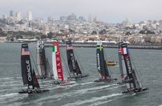 Home / America's Cup - love that these guys are living across the street from my place!