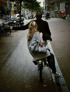 love the bicycle culture in the Netherlands ... Ik bedoel, ik hou ervan!