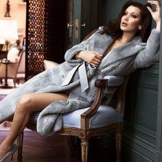 Bella Hadid channels Getrude Vanderbilt Whitney in Max Mara for Harper's Bazaar Aug 2015