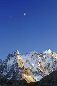Aiguilles de Mont Blanc, Chamonix, France