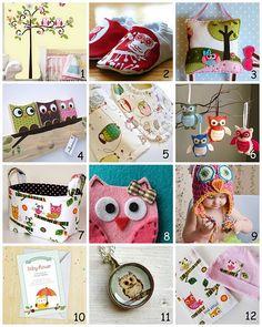Owl Nursery and Baby Stuff