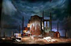 After Mrs. Rochester. Shared Experience/Duke of York's Theatre. Scenic design by…