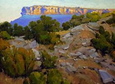 """""""Candy on the Ridge,"""" by Ronnie Williford, one of the award winners in America's Parks I. The landscape depicts Palo Duro Canyon State Park in Texas."""