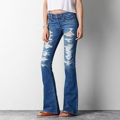 cfff2a78872 American Eagle Outfitters Jeans Boho Artist Flare American Eagle Jeans, American  Eagle Outfitters Jeans,