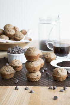 Mocha Chocolate Chip Muffins | thefirstyearblog.com