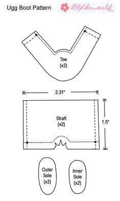boots pattern:
