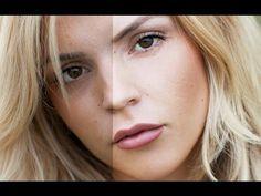 Professional Skin Retouching Photoshop Tutorial - YouTube