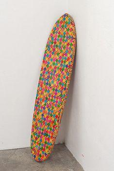 haroshi: mosaic art created using recycled skateboards...stunning!