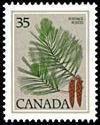 Canada Stamp - White Pine  (1977-1982)