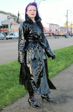 Vinyl Raincoat, Pvc Raincoat, Raincoat Jacket, Hooded Raincoat, Imper Pvc, Black Mac, Black Raincoat, Vinyl Clothing, Pvc Coat