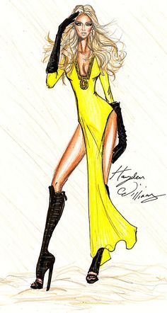 Hayden Williams Fashion Illustrations                                                                                                                                                      Más
