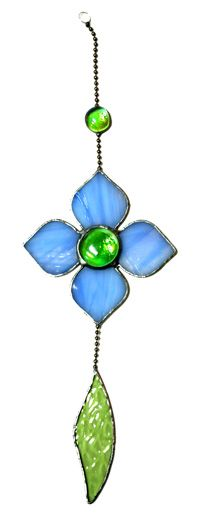 Stained Glass Flowers-what about a fan pull?