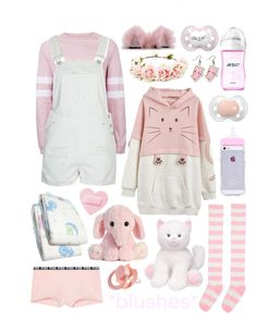 Pastel Goth Outfits, Pastel Goth Fashion, Kawaii Fashion, Little Boy Outfits, Cute Outfits For Kids, Cute Casual Outfits, Ddlg Outfits, Space Outfit, Mode Kpop
